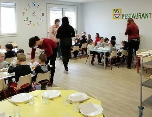 Restaurant scolaire : renforcement du protocole