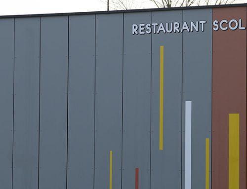Inauguration du restaurant scolaire La Verchère
